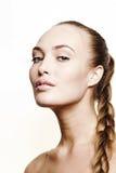 Красивейшая девушка с длинними светлыми волосами Стоковые Фотографии RF