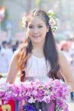 красивейшая девушка тайская Стоковые Изображения RF