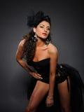 красивейшая девушка танцы кабара сексуальная Стоковая Фотография