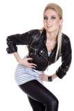 красивейшая девушка танцы Стоковое Фото