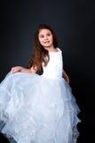 красивейшая девушка танцы Стоковая Фотография