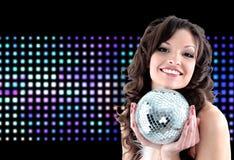 красивейшая девушка танцы Стоковые Фотографии RF