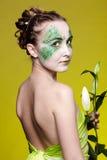 красивейшая девушка эльфа Стоковая Фотография