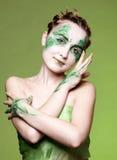 красивейшая девушка эльфа Стоковые Фотографии RF