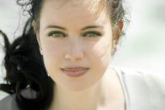 красивейшая девушка Стоковое Фото