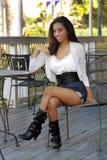 красивейшая девушка 4 outdoors предназначенная для подростков Стоковое фото RF