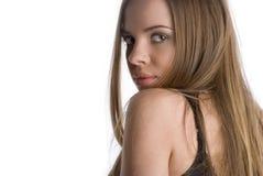 красивейшая девушка Стоковая Фотография