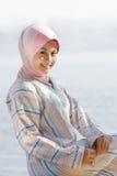 Красивейшая девушка malay Стоковое Изображение RF