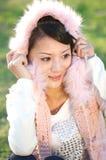 красивейшая девушка oriental Стоковые Изображения RF