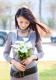 красивейшая девушка oriental Стоковое Изображение