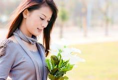 красивейшая девушка oriental Стоковая Фотография