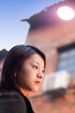 красивейшая девушка oriental Стоковое Изображение RF