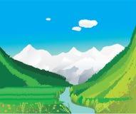 красивейшая долина Стоковая Фотография RF