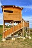 красивейшая дом деревянная стоковое изображение