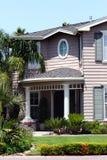 красивейшая дом самомоднейшая Стоковое фото RF