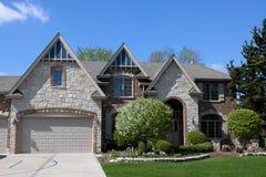 красивейшая дом самомоднейшая Стоковое Изображение RF