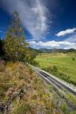 красивейшая дорога ландшафта стоковые изображения rf