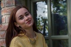 Красивейшая девушка на утре Стоковое фото RF