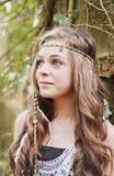 красивейшая девушка подростковая Стоковое Изображение RF