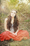 красивейшая девушка подростковая Стоковая Фотография RF