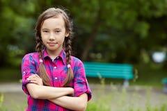 красивейшая девушка подростковая Стоковое фото RF
