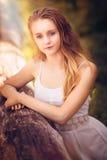 красивейшая девушка подростковая Стоковые Фотографии RF