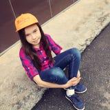 красивейшая девушка подростковая Стоковые Фото