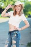 красивейшая девушка предназначенная для подростков Стоковое Фото