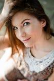 красивейшая девушка платья Стоковые Фотографии RF