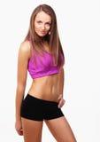 Красивейшая девушка спортов Стоковые Изображения RF