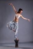 красивейшая девушка танцы Стоковое Изображение