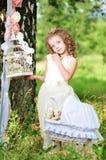 красивейшая девушка outdoors Стоковое Фото