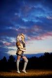 красивейшая естественная женщина портрета Стоковые Фотографии RF