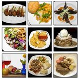 Красивейшая еда Стоковое Изображение RF