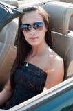 красивейшая женщина брюнет Стоковые Фото