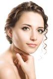 красивейшая женщина брюнет Стоковое Фото