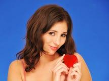 красивейшая женщина влюбленности Стоковое Изображение RF