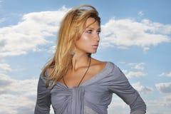 Красивейшая женщина в природе Стоковые Фотографии RF