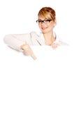 красивейшая женщина дела Стоковое Изображение RF