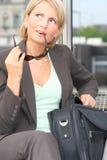 красивейшая женщина дела Стоковая Фотография RF