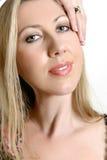 красивейшая женщина кожи стоковое изображение rf