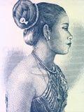 красивейшая женщина Лаоса Стоковая Фотография