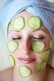 красивейшая женщина маски Стоковое Фото