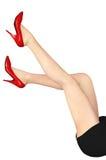 красивейшая женщина ног s Стоковая Фотография RF
