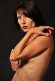 красивейшая женщина обнажённого Стоковые Изображения RF