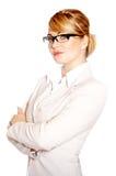красивейшая женщина портрета дела Стоковое фото RF