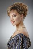 красивейшая женщина портрета красотка естественная Стоковое фото RF