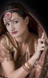 красивейшая женщина портрета Стоковое Изображение RF