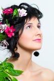красивейшая женщина портрета Стоковая Фотография RF