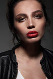 красивейшая женщина портрета стоковые фотографии rf